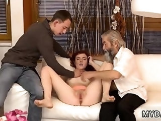 Family strokes daddy fucks pal' chum's step daughter every U