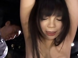 Luscious asian schoolgirl goes insane in her mad sex games