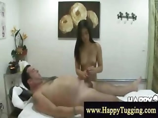 Masseuse gets a taste of that man dick