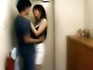 Japanese Housewife Caught Cheati...