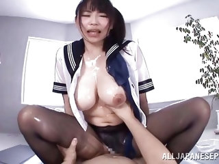 If you're a fan of horny Asian sluts, that crave to be filled with delicious cum, enjoy the hardcore sex scenes, where the kinky brunette with bi