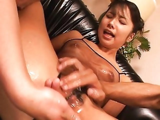 Masturbation;Brunette;Asian;Vaginal Masturbation;Anal Masturbation;Toys;Threesome;Japanese;Fetish