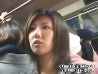 Japanese Touches Males In The Inside Of A Bus Part1