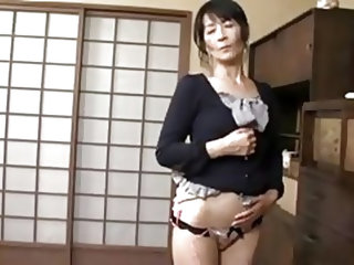 She's still hot and horny, the fact that this Japanese bitch is now mature means that she has more experience in pleasing men and her body is sti